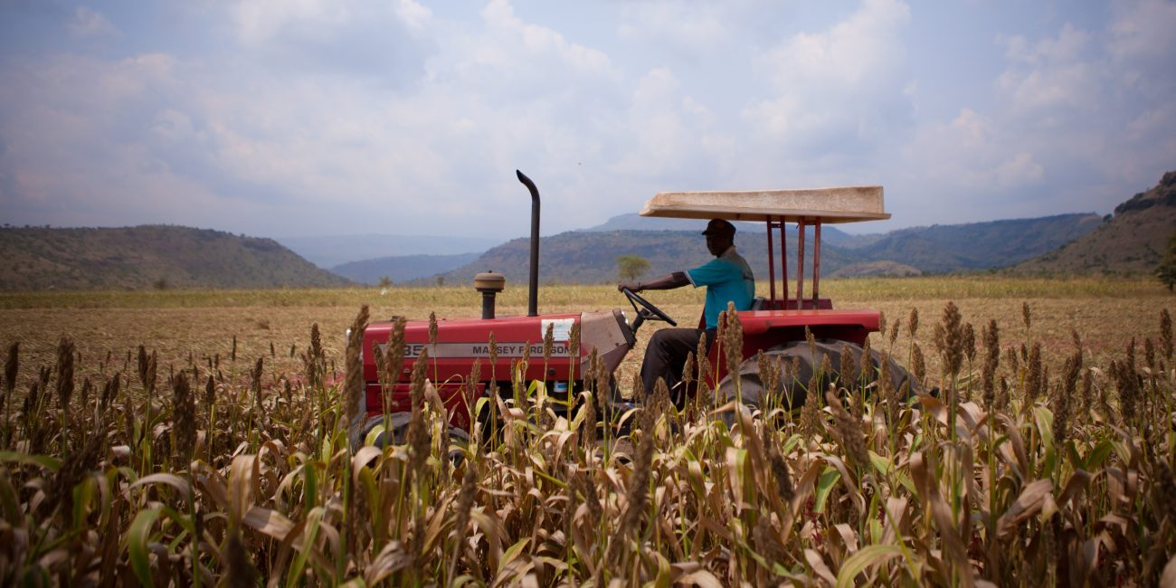 Partnering with AGCO to promote access to agricultural mechanization