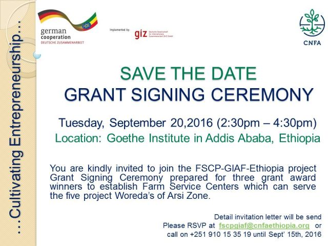 SAVE THE DATE_Grant Signing Ceremony_Sep 20_2016